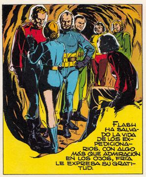 Flash Gordon el conquistador de Javier Cuervo. El amor y la guerra en el planeta Mongo de Alex Raymond