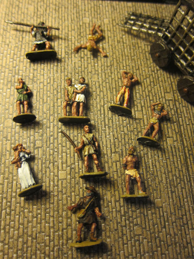 Lost in the Land of Giants: The Roman Slave Market