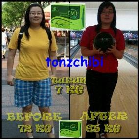 Cara langsing alami dalam 1 minggu berat badan turun 10 kg