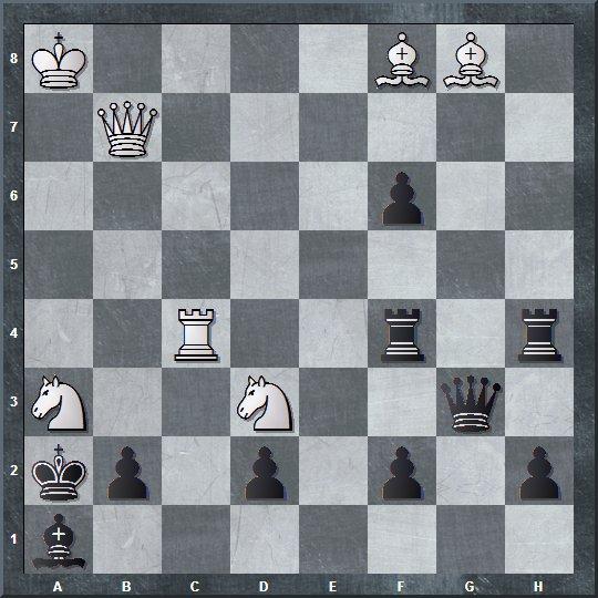 Kasus 5: Permainan Catur 2 Langkah Mati