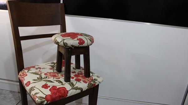 renovar o estofado das cadeiras