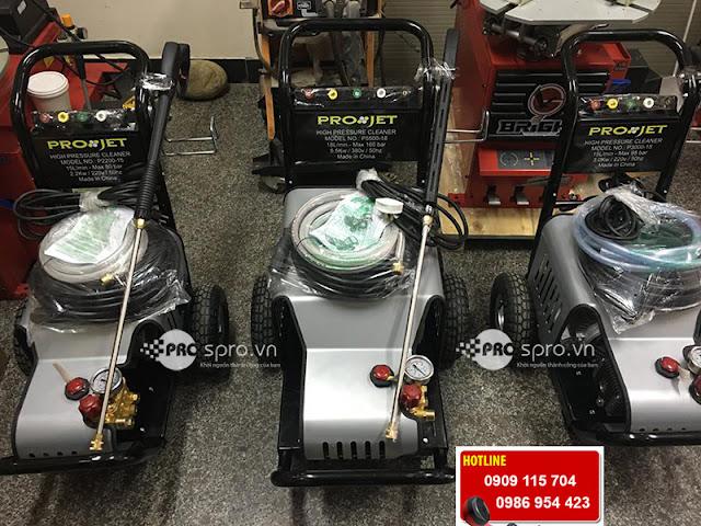 Máy rửa xe cao áp, máy xịt rửa công nghiệp chuyên dụng