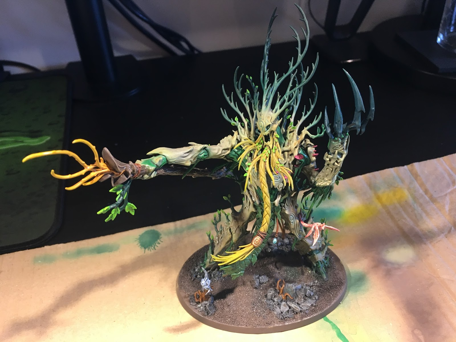 Banjo Unchained: Sylvaneth Treelord Ancient