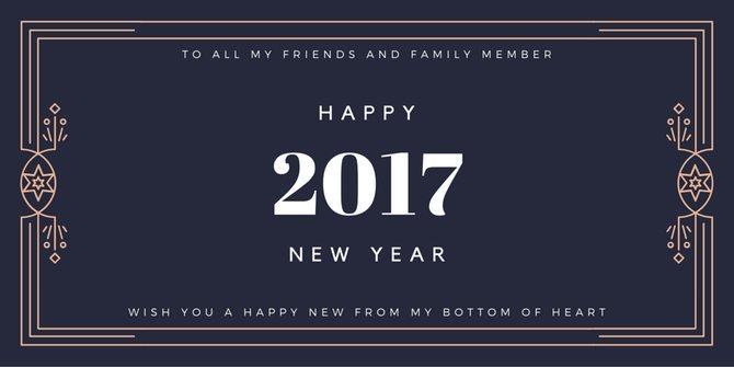 Happy New Year 2017 DP For Whatsapp