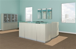 Medina Textured Sea Salt Reception Desk