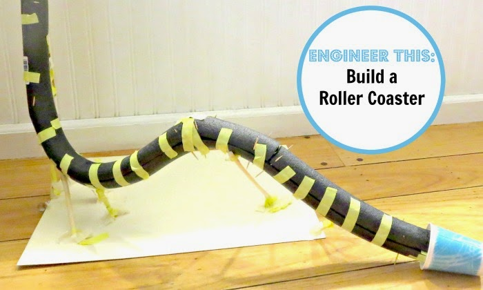 STEM for Kids: Design and Build a Roller Coaster