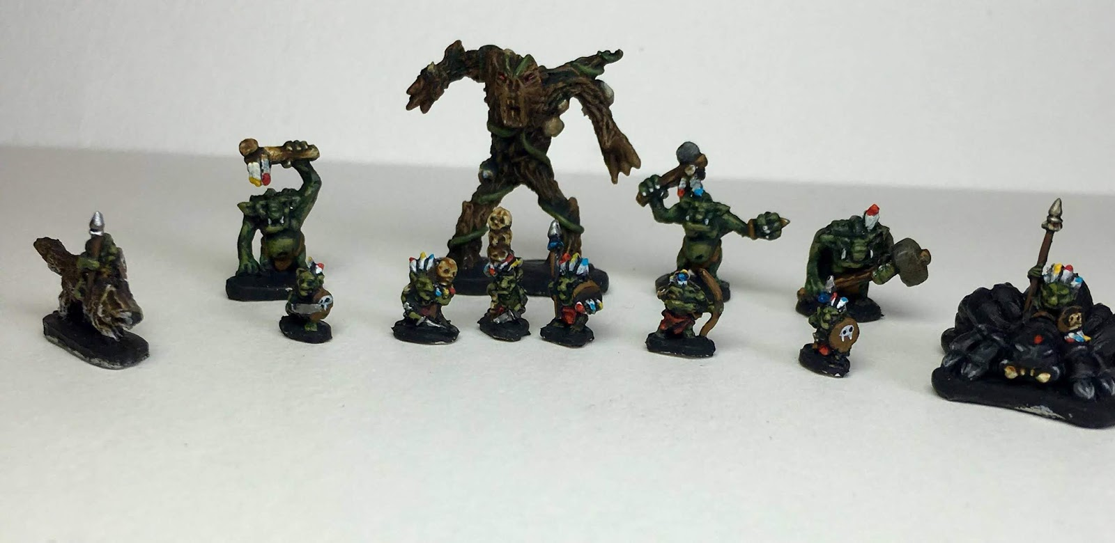 6mm scale forest goblins