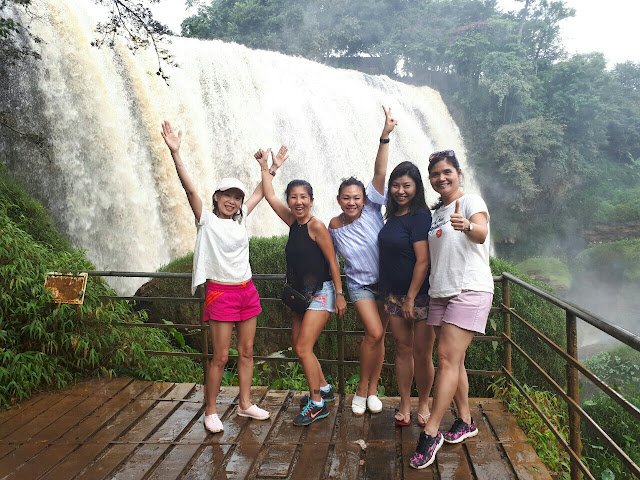 Tours in Dalat, Dalat countryside, Elephant waterfall