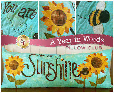 A Year in Words Pillow Club- August