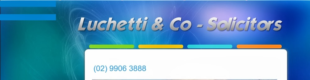 "<a href=""http://luchetti.com.au"">Luchetti & Co</a> - Seniors, Wills and Estates"
