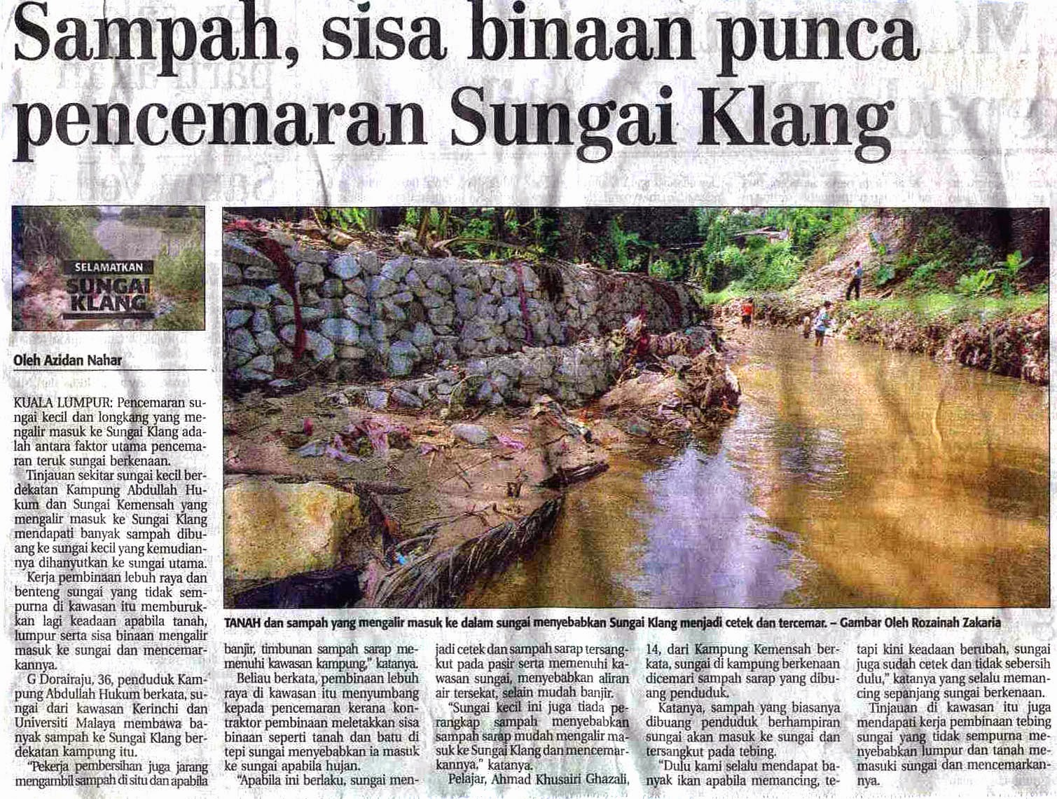 Berita Alam Sekitar Malaysia