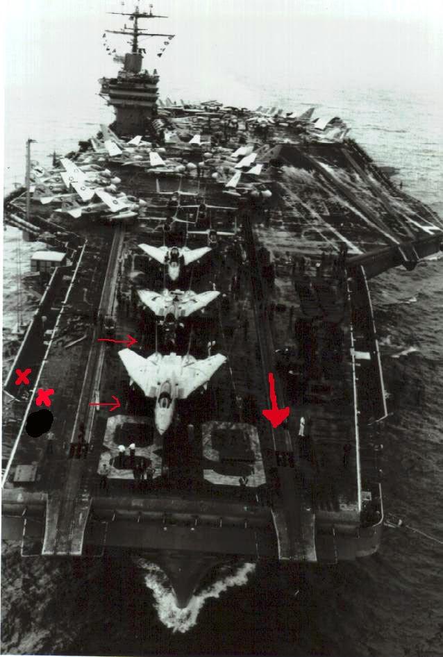USS Nimitz 1981