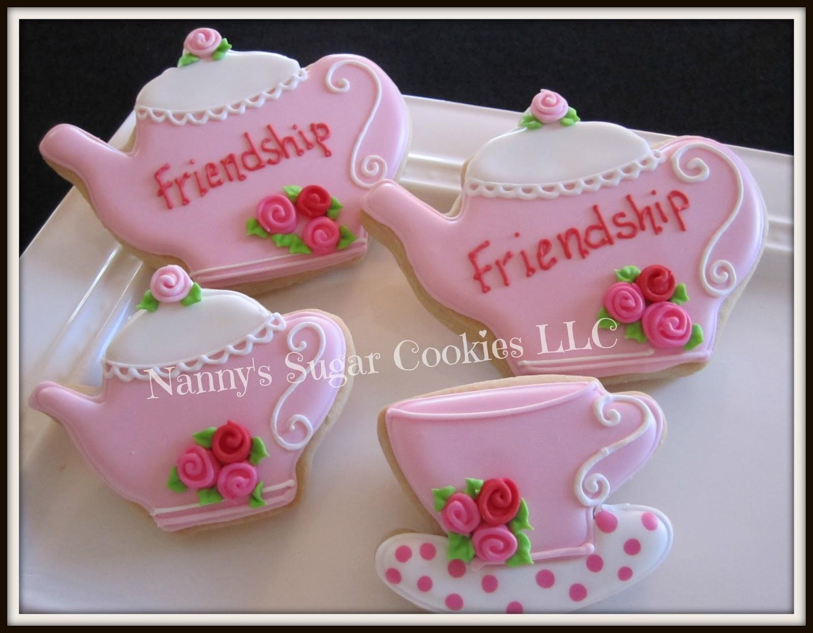 Nanny\'s Sugar Cookies LLC: Tea Time and Hats...
