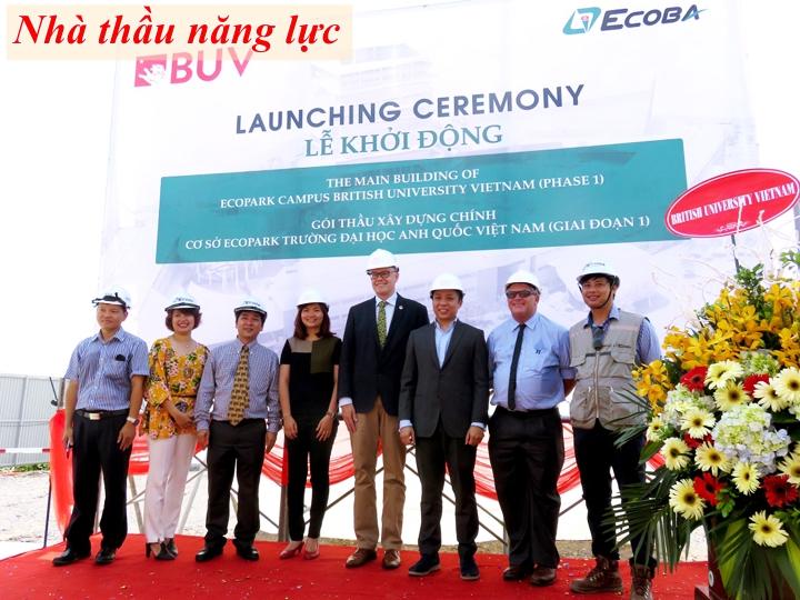 Ecoba nhà thầu uy tín có năng lực xây hinode city Minh Khai