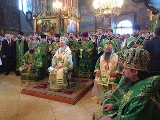 Ο Μητροπολίτης Κίτρους, Κατερίνης και Πλαταμώνος κ. Γεώργιος στη Ρωσία σε ακαδημαϊκή αποστολή