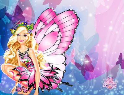 foto barbie cantik bergerak
