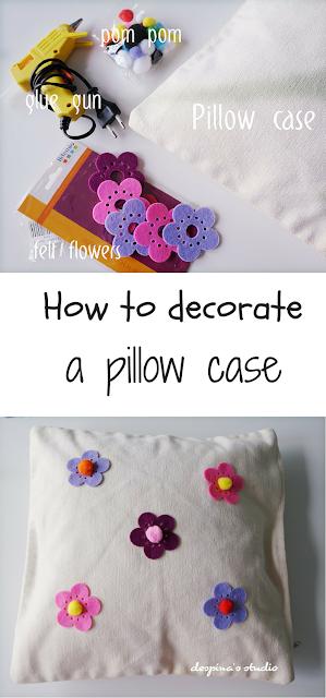DIY pillow case