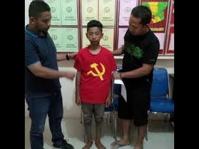 Sikat Jendral !! Menhan : Orang Tua Pemakai Kaos PKI Pengecut - Naon Wae News