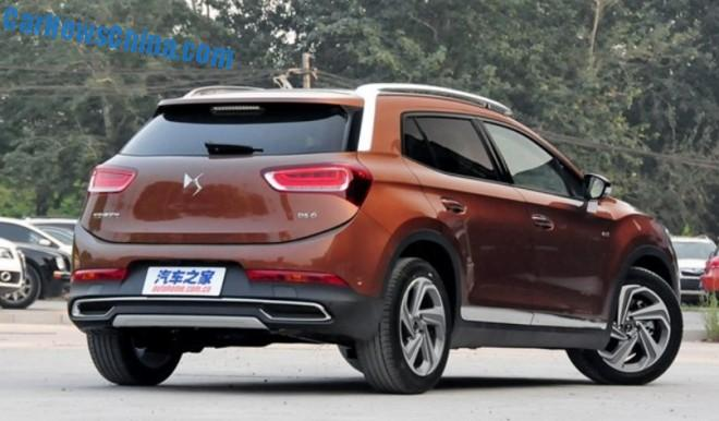 Rewelacyjny Citroen DS6 SUV introduce on the China car market ~ CarNews- Autoweek SL83