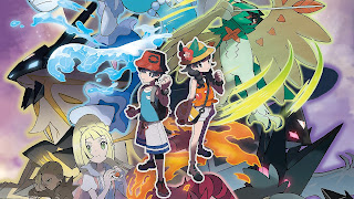 Pokemon Ultra Sun and Ultra Moon PS3 Wallpaper