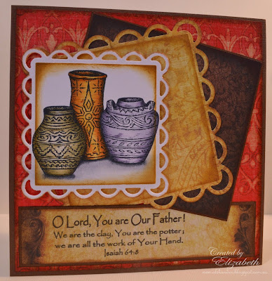 Our Daily Bread Designs, You are the Potter, pottery single