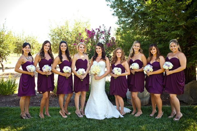 Plum Ivory Farm Wedding Belle The Magazine