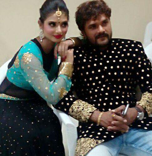 Priyanka Maharaj nd kheshari ji.