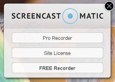 cara instal screencast o matic