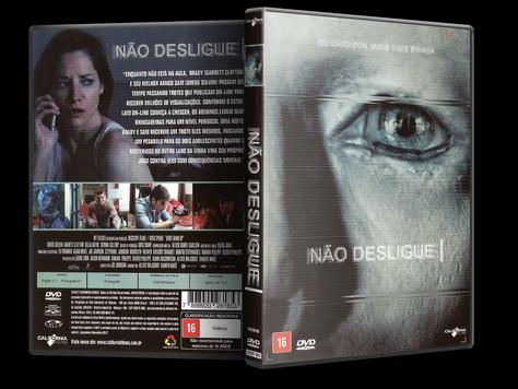 Capa DVD Não Desligue