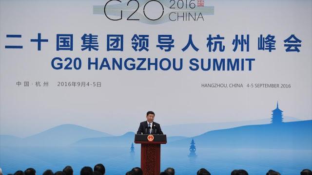 El presidente chino concluye 'con gran éxito' la cumbre del G20