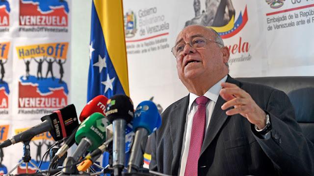 """Venezuela pide a España que retire su reconocimiento a Guaidó y asuma que """"se precipitó"""""""