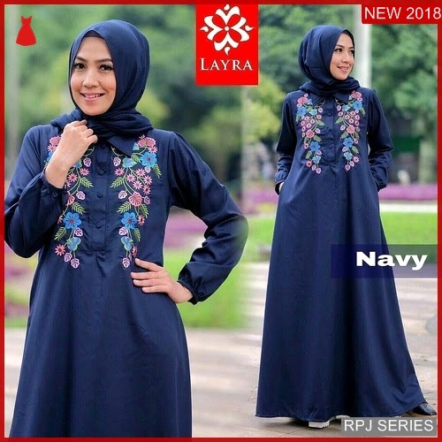 RPJ173D221 Model Dress Marwah Cantik Maxi Wanita
