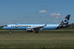 1st A321N for La Compagnie