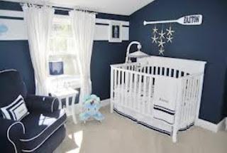 cuarto color azul bebé