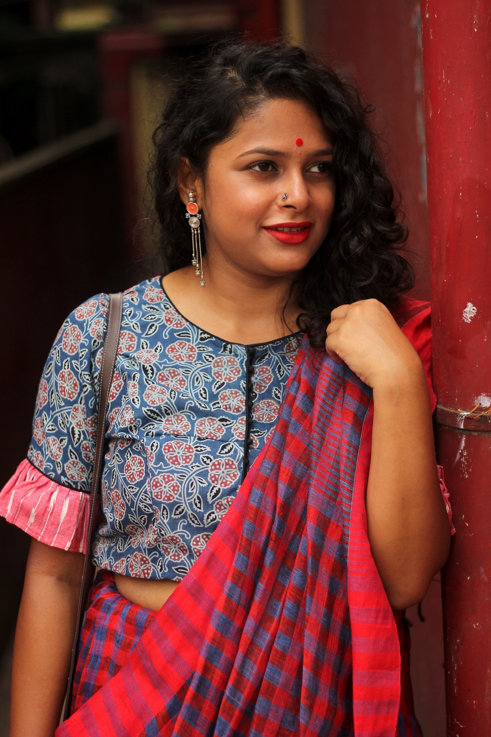 What to wear during Durga Puja - Ashtami Fashion - Durga Puja Lookbook - Festive Lookbook - Live Laugh Dressup - Indian Fashion Blogger