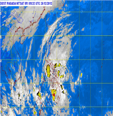 'Quinta' update, now a tropical depression