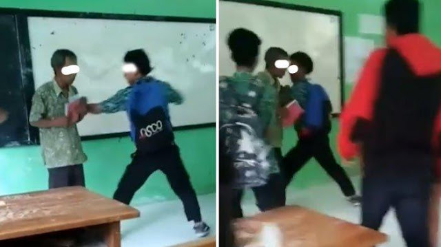Viral, Video Guru Dikeroyok Siswa di SMK Kendal
