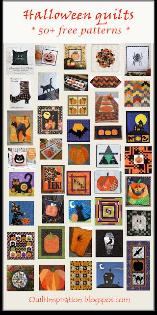 Halloween Quilt : halloween, quilt, Quilt, Inspiration:, Pattern, Halloween