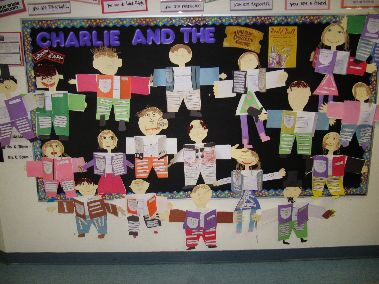 Mrs Squire S Grade 3 Class 3s Charlie And The