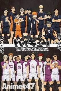 Haikyuu!! SS3 - Haikyuu!!: Karasuno Koukou VS Shiratorizawa Gakuen Koukou 2016 Poster