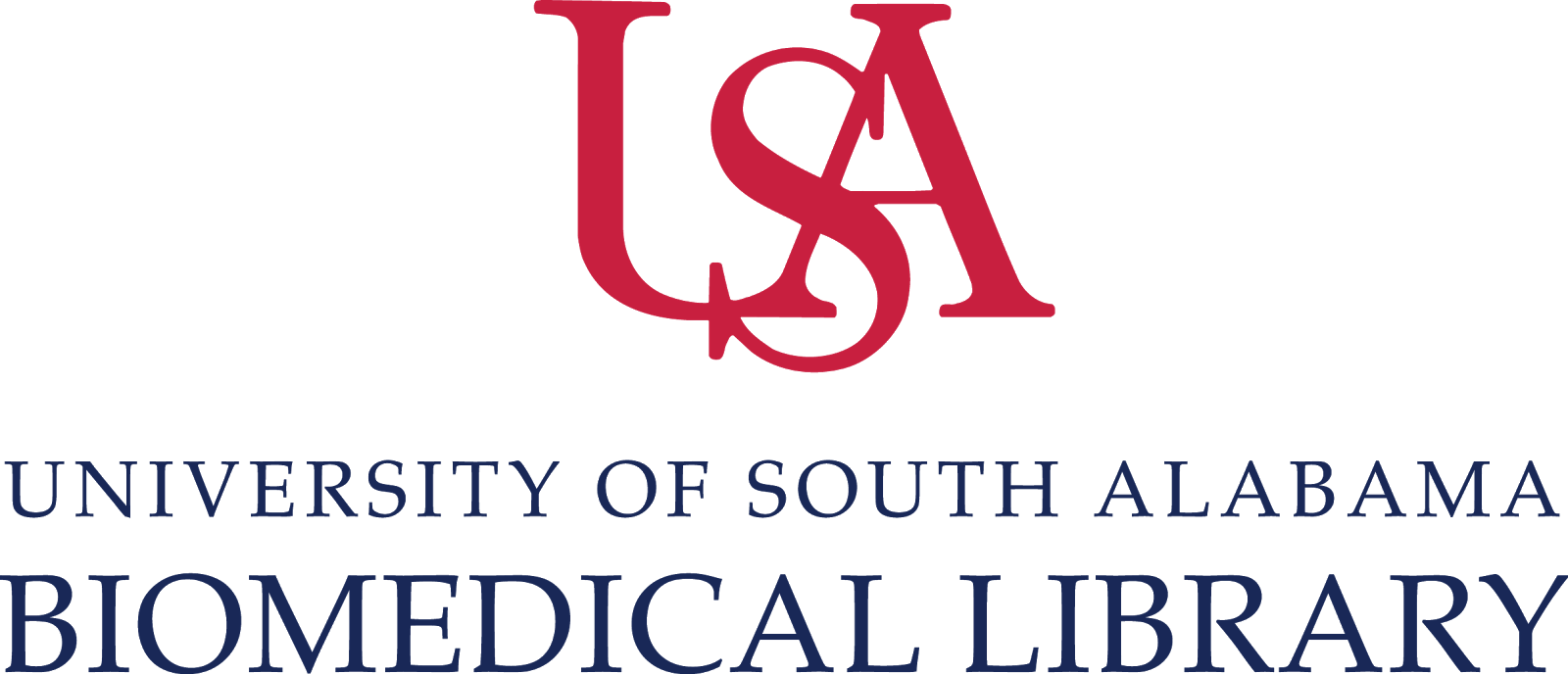 USA Biomedical Library Logo