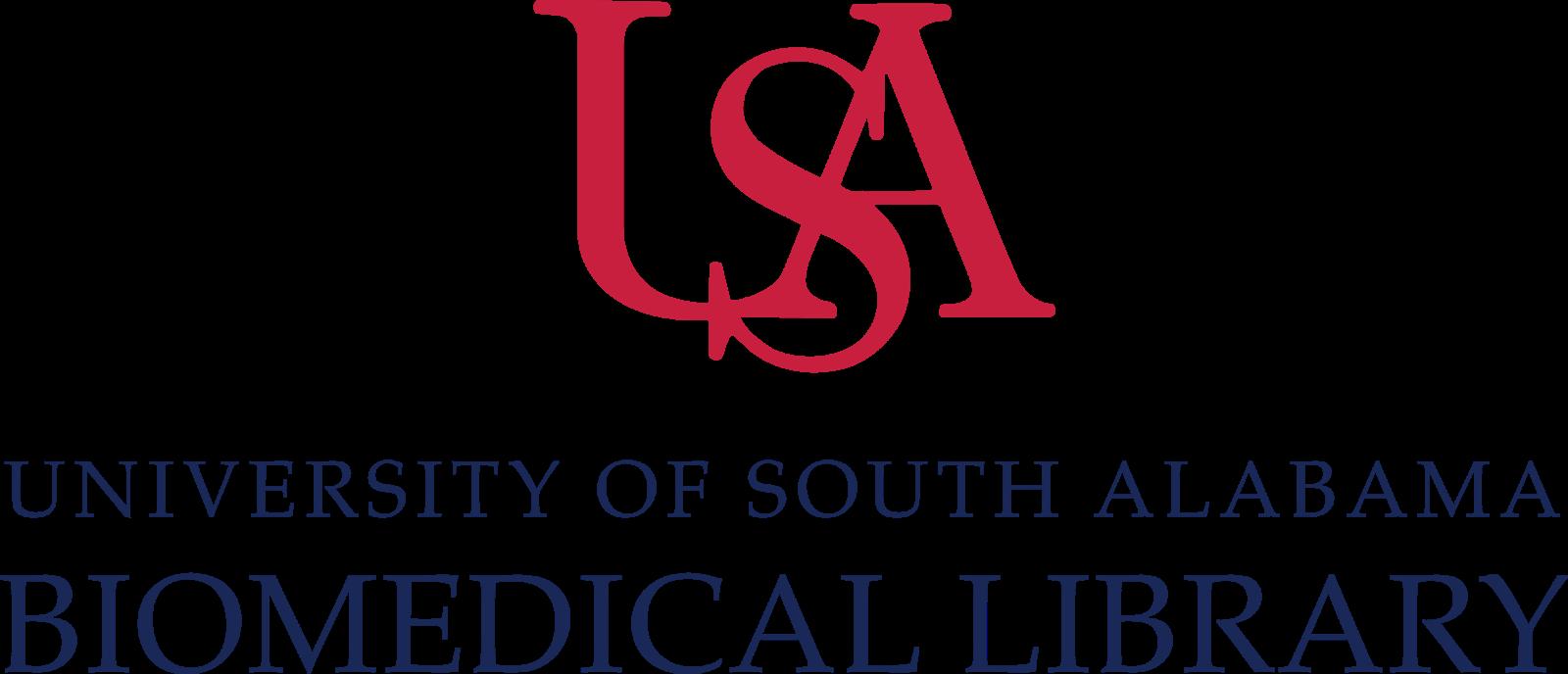 USA Biomedical Library Logo