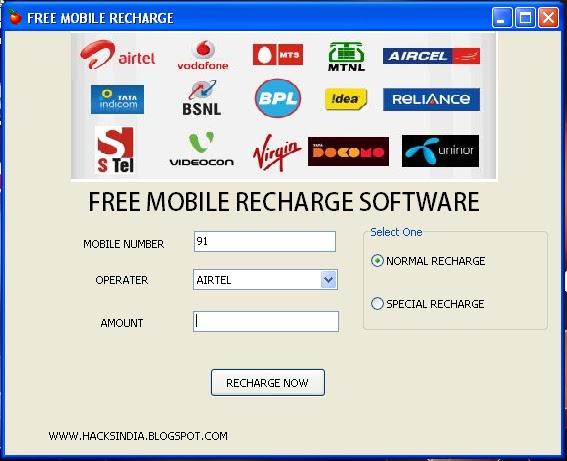 online recharge idea mobile prepaid free
