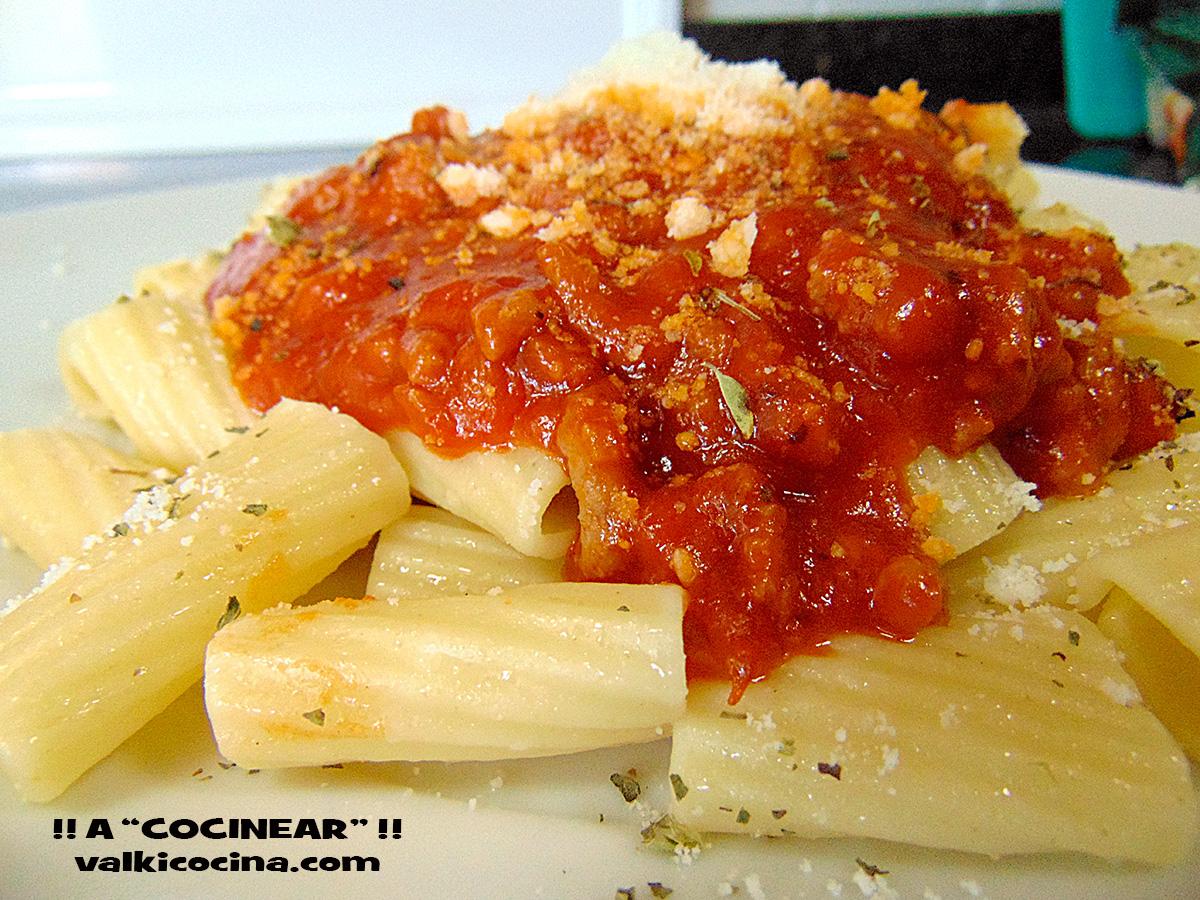 Como Cocinar Macarrones   Espaguetis O Macarrones A La Bolonesa Facil A Cocinear