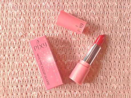 Cantik Natural dengan Lipstik Matte Pixy Pink