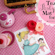 tea party mat for Two ♥ {with free pretty things for you!}
