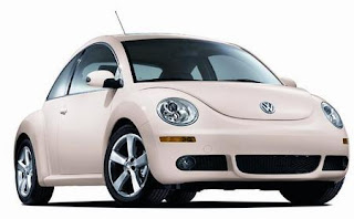 Auto in Vietnam. Volkswagen Beetle