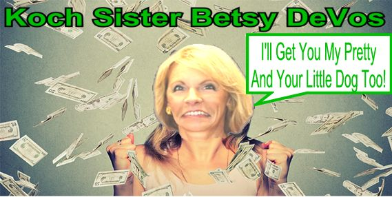 Betsy Devos Trumps Education Pick Plays >> Big Education Ape Betsy Devos Trump S Education Pick Plays
