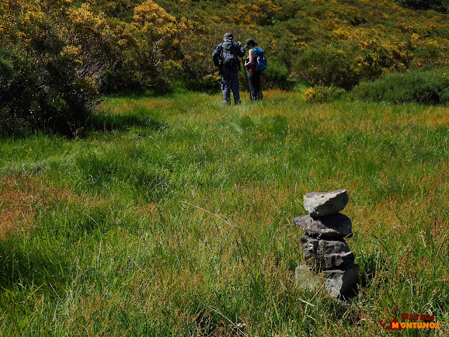 Jito marcando el camino a los puertos de Cuevas