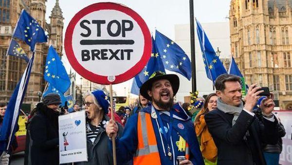 Reúnen seis millones de firmas contra el brexit en Reino Unido